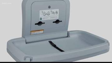Baby changing tables coming to men's and women's restrooms in Spokane city buildings
