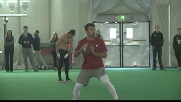 WSU football holds Pro Day at Pullman campus