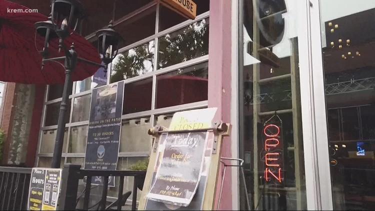 Spokane restaurants, streateries face setback with wildfire smoke
