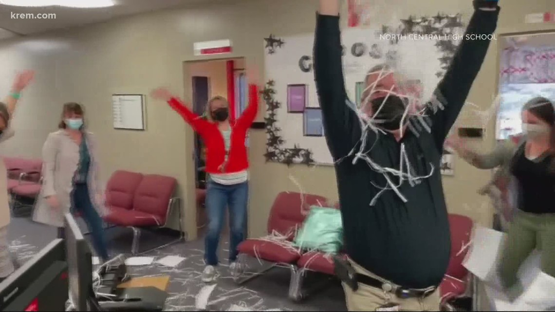 North Central High School makes video celebrating in-person returning