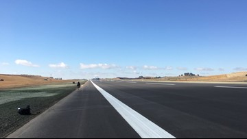 Pullman-Moscow Regional Airport completes work on new runway