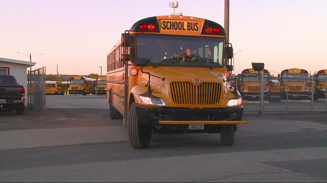 'It is stressful': Parents report Spokane Public Schools bus delays amid driver shortage
