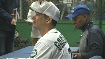 Making his mark: Mariners pitcher, former Zag Marco Gonzales visits Spokane