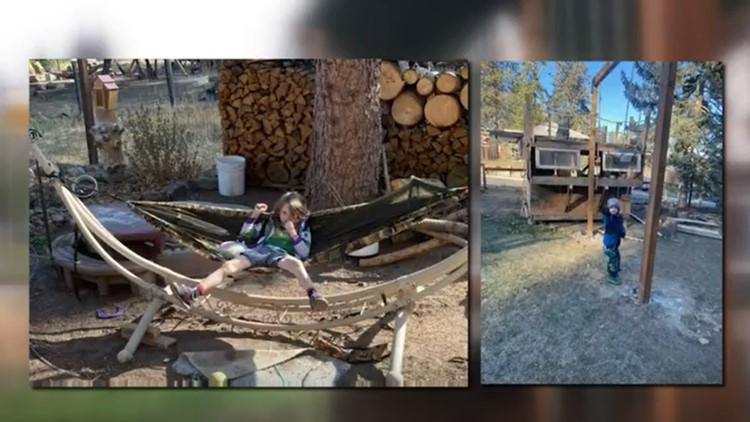 Spokane 'Survivor' set builder creates backyard wonderland for his kids