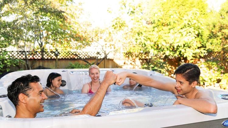 Sacred Heart nurse wins $10K hot tub from Post Falls company