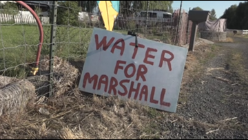 Marshall community near Cheney could be without water for a month
