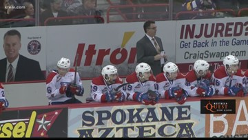 Portland steals game 4 from Chiefs, Spokane trails 3-1 in series