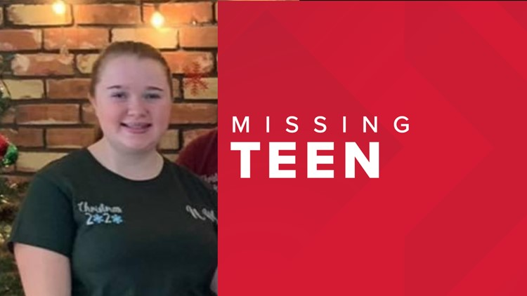 Teen with disabilities who left her North Spokane home remains missing on Monday