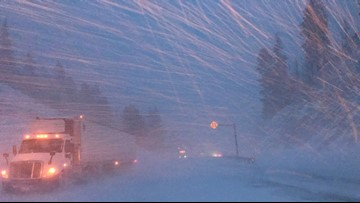Driving for Thanksgiving? Here are conditions on Washington, Idaho mountain passes