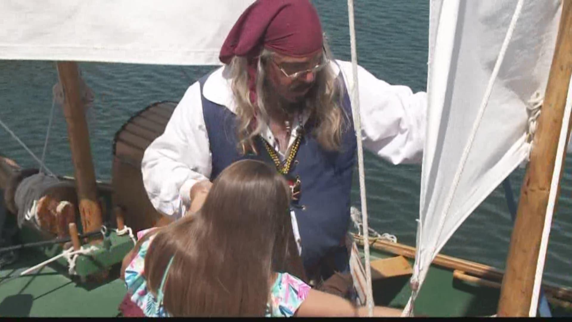 captain hampton und den klein piraten