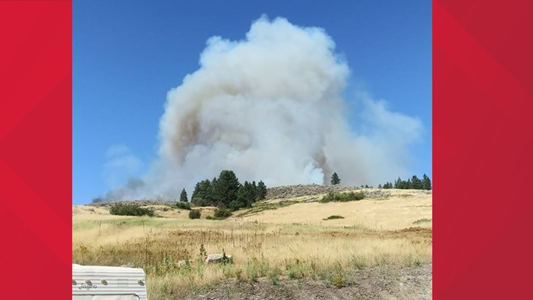 Level 3 evacuations have ended for fire near Rice, Washington in Stevens County