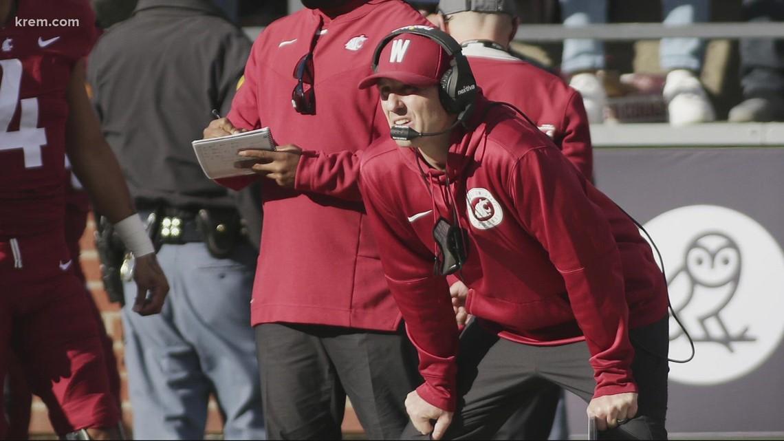 Jake Dickert steps in as interim head football coach at WSU