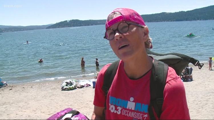 'The biggest accomplishment is finishing the race': Ironman athletes prepare for hot race on Sunday