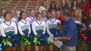 Tom's Tailgate visits the Lakeside (Nine Mile Falls) at Omak game
