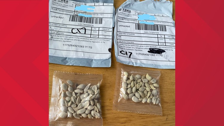 What to do if you get seeds from another country you didn't order in the mail