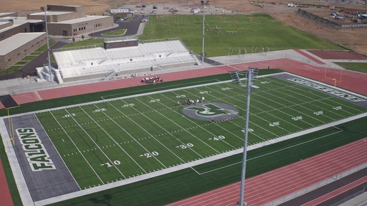 Touring Ridgeline High School's brand new stadium