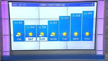 Weather Update 4 p.m. (10/11/18)