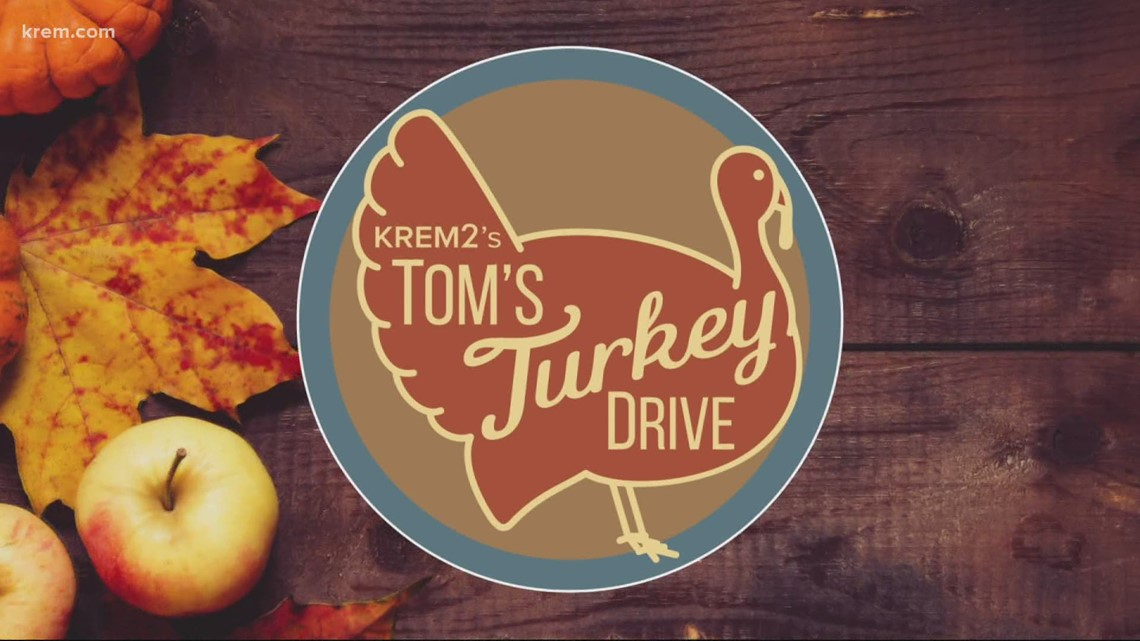 Donate to Tom's Turkey Drive at area Rosauers, Starbucks