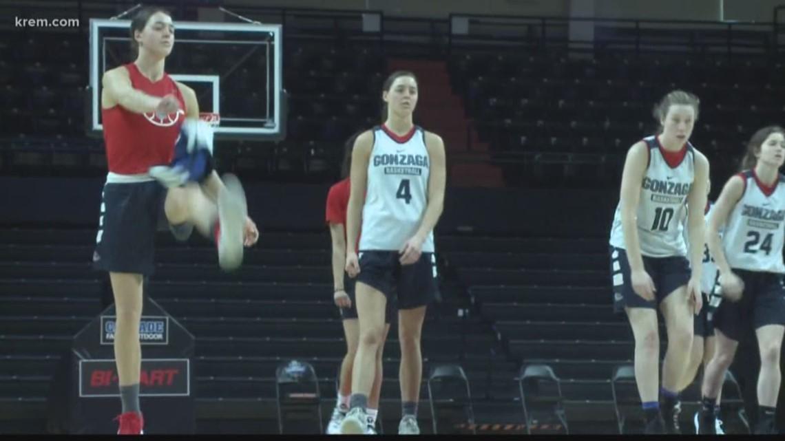 Gonzaga women prepare for first NCAA match up