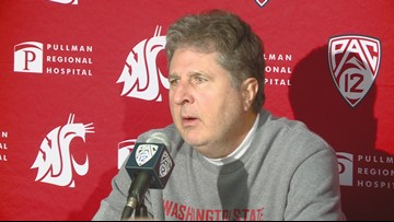 Mike Leach rants at reporter after Apple Cup loss