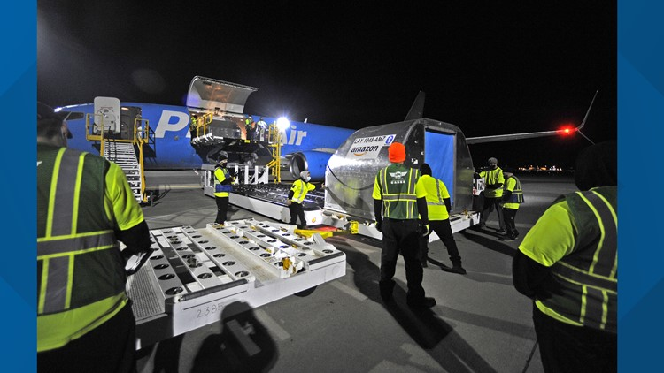 Amazon launches first air gateway in Spokane