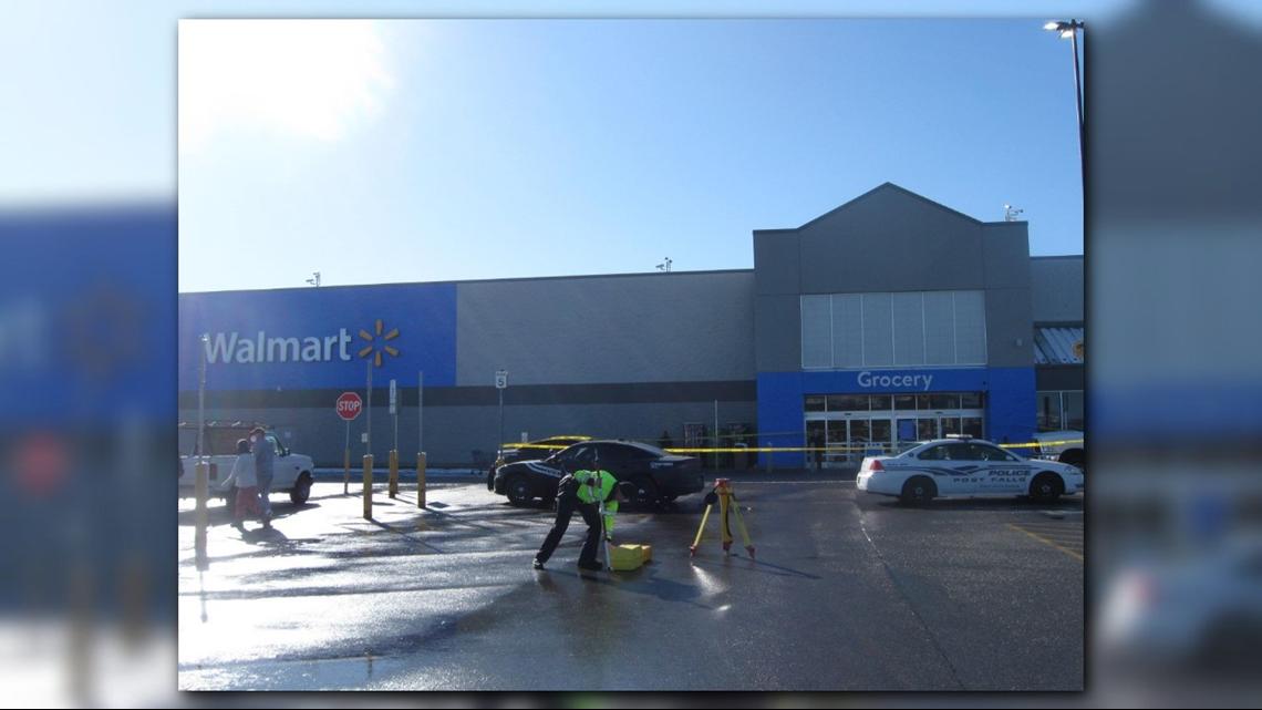 Driver strikes, kills elderly man in Post Falls Walmart parking lot - KREM.com