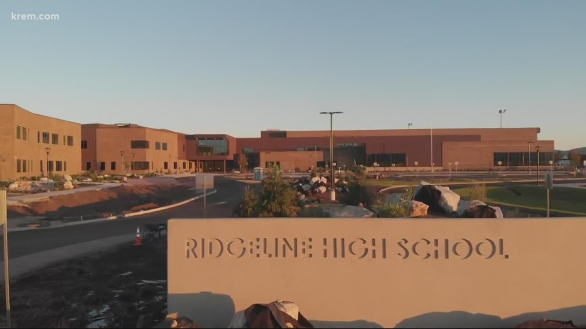 Ridgeline High School welcomes community into brand new facility