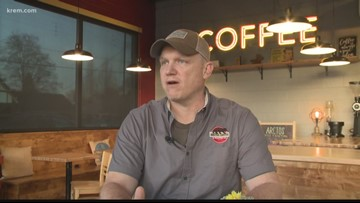 Old automotive warehouse now home to Spokane's 'Arctos Coffee' (4-20-18)