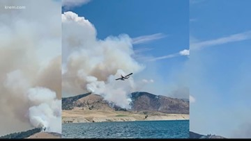 Why crews have made little progress on the Williams Flats Fire