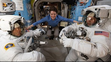 NASA Astronaut, Spokane native Anne McClain shares inspiring insight after space mission