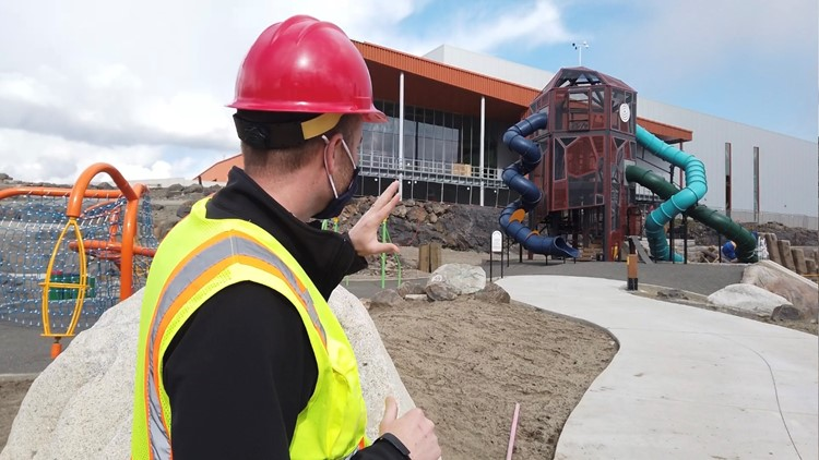 'We have it all': Major Riverfront Park projects slated for spring, early summer completion