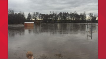 Watch: Videos show impact of flooding in southeastern Washington