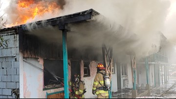 Cash reward offered for arson suspects involved in Coeur d'Alene Garden Motel fire