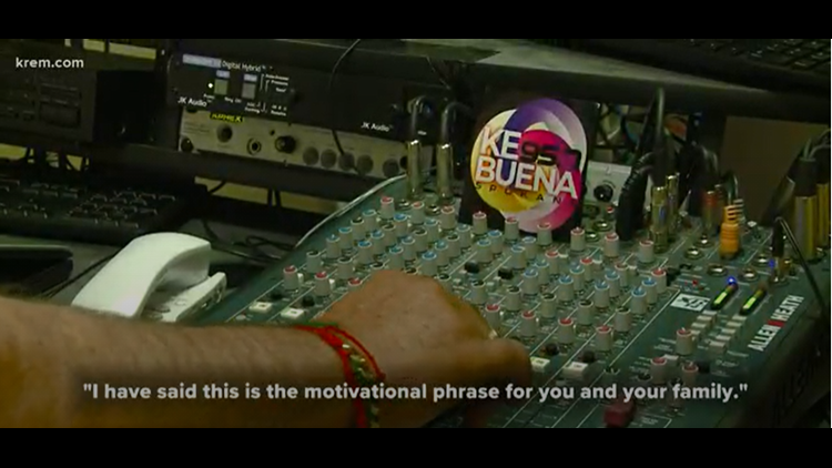 Ke Buena 95.7, Spokane's first Spanish language FM radio station