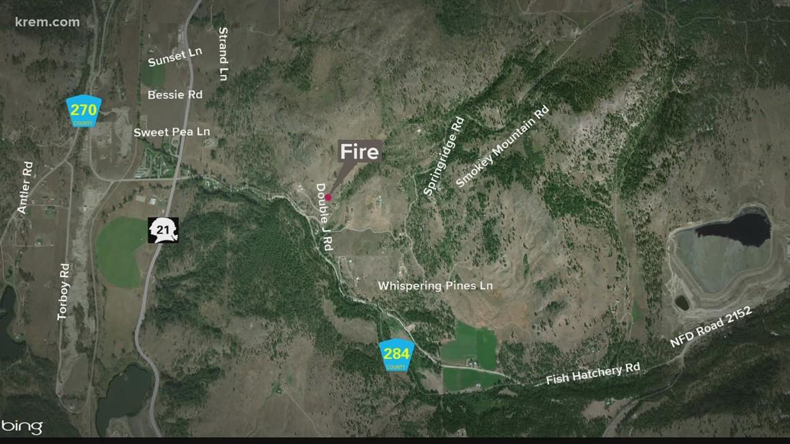 40-acre fire near Republic forces immediate evacuations