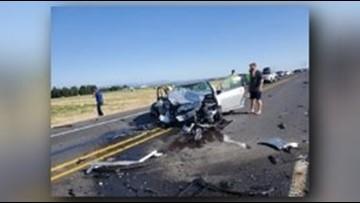 5 people injured in multi-car crash on Hwy 395 near Deer