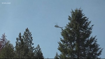 Fire bosses help knock down 5 to 8 acre Timber Creek Fire