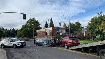 No students injured as Spokane Montessori bus involved in crash