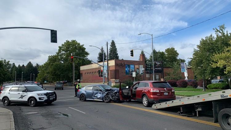 No students injured as Spokane Montessori bus involved in crash