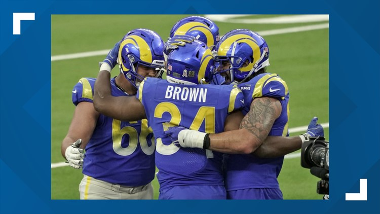 Goff's passing, Williams' picks lead Rams past Seattle 23-16