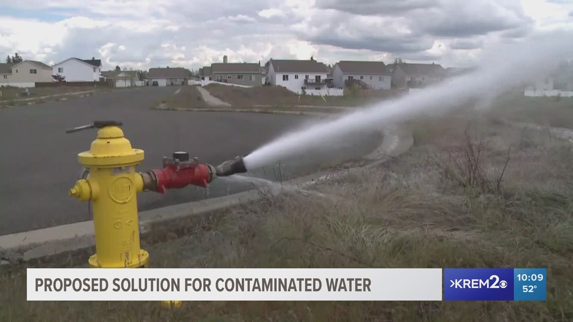 Airway Heights seeking $22M for new water source after firefighting foam contamination