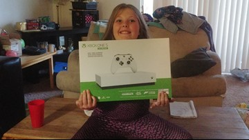 9-year-old Spokane girl receives a new Xbox after story airs on KREM