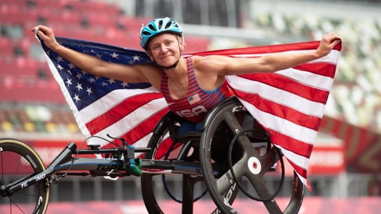 Tekoa native wins gold at 2020 Paralympics
