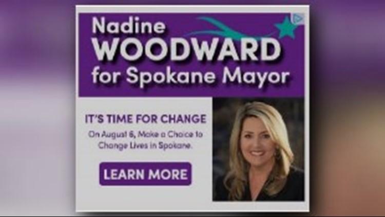 Nadine Woodward Campaign finance violation