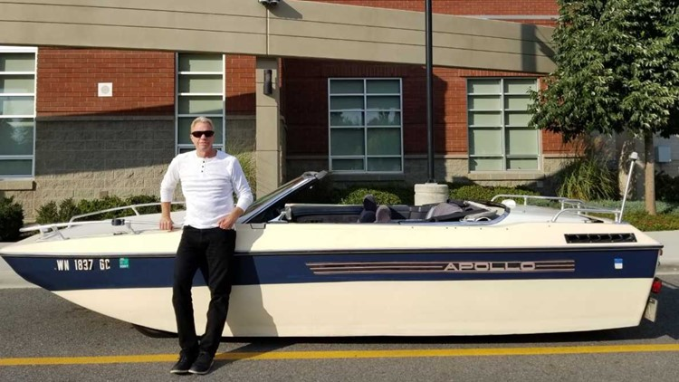 Meet the man behind Spokane's famed boat car 10 years after its creation
