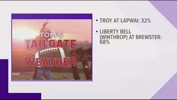 Tom's Tailgate is going to Liberty Bell (Winthrop) at Brewster on Friday