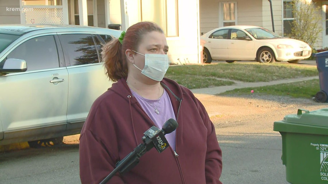 Spokane resident speaks about police presence near Liberty Park