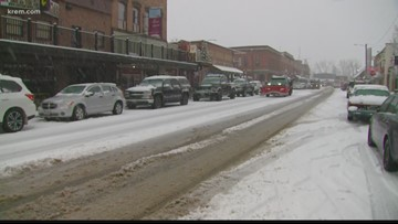 Monday snow storm blankets Bonner County