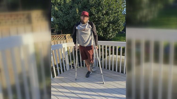 WSU fan injures Achilles celebrating Noah Williams' Saturday performance