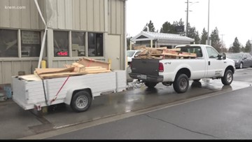 Spokane city, county to charge fee for driving with unsecured loads